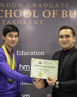 Bekzod Mavlonov Scholarship London Graduate School of Business