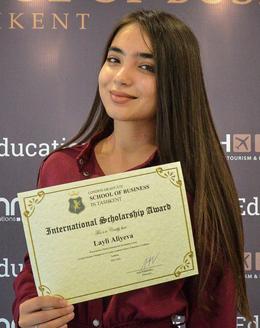 Layli Aliyeva Scholarship London Graduate School of Business